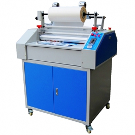 Pattern laminating machine with cutter