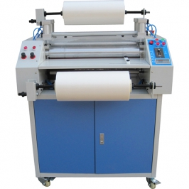Qlfm-c pneumatic double side texturing and laminating machine