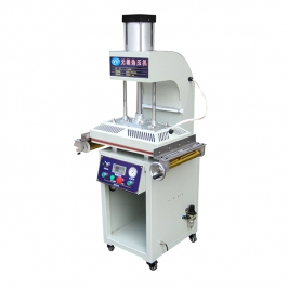 Qtj-a gilding machine with plate