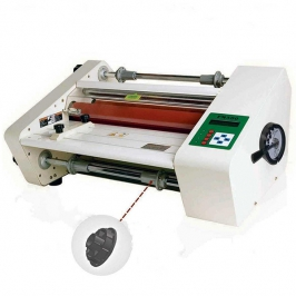 Double sided hot laminating machine srfm-a380