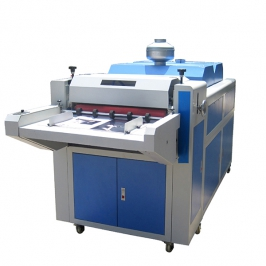 Extended pattern coating machine