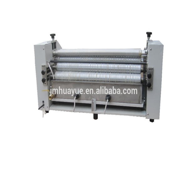 Pattern gluing machine