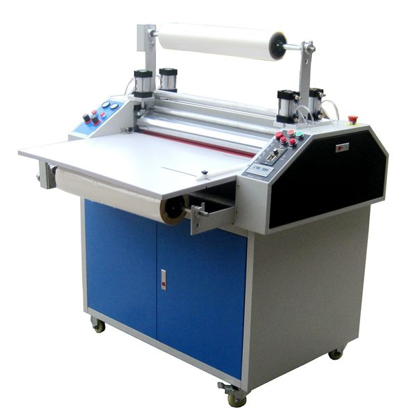 Single and double side laminating machine